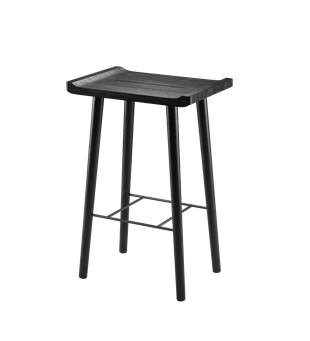 Scala Bar Stool (Black)