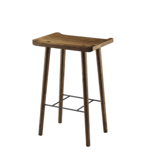 Scala Bar Stool (Smoked)
