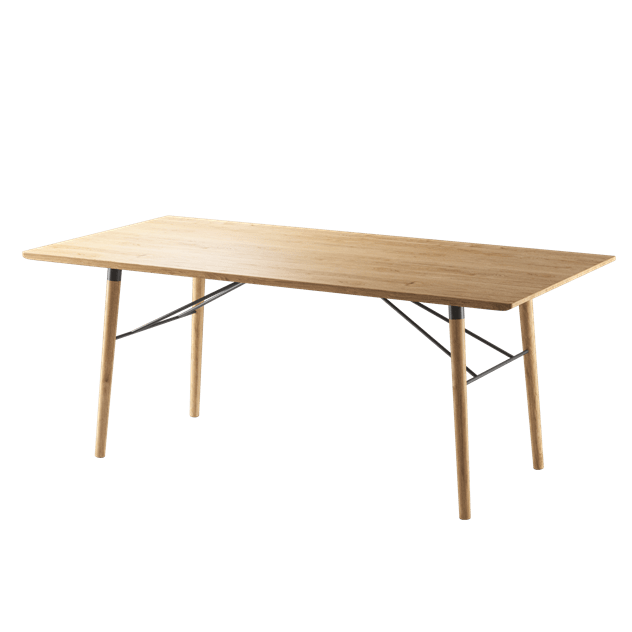 Scala Dining Table (Oiled)